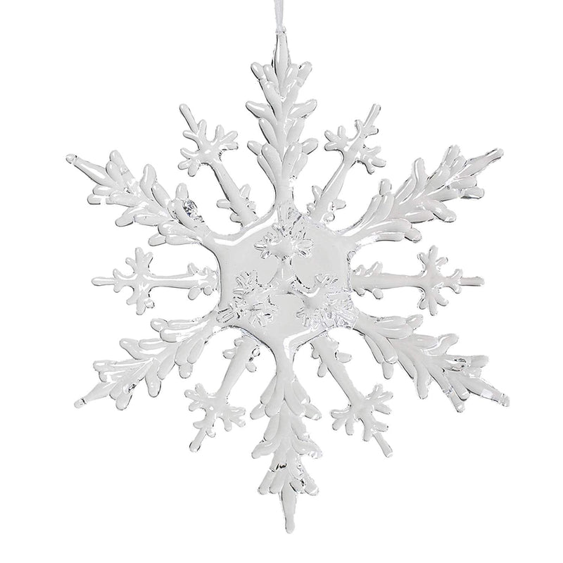 Chiller Flat Snowflake Ornament