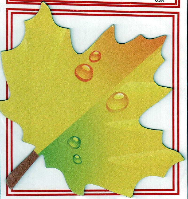 Yellow Maple Leaf Magnet - Shelburne Country Store