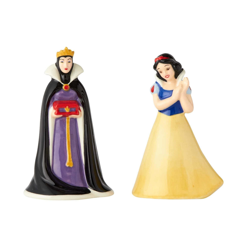 Snow White and Evil Queen Salt & Pepper Set - Shelburne Country Store