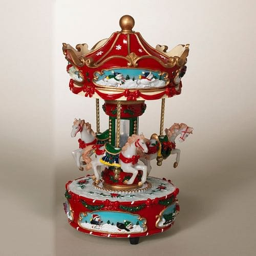 10 inch Wind-up Carousel