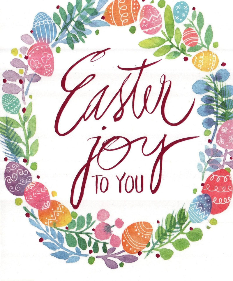 Easter Joy to You Greeting Card