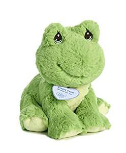 Precious Moments Green Ribbit Frog
