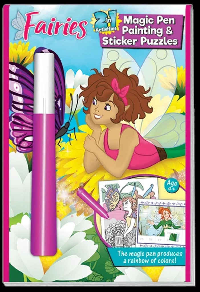 Fairies 2 in 1 Magic Pen Painting with stickers - Shelburne Country Store