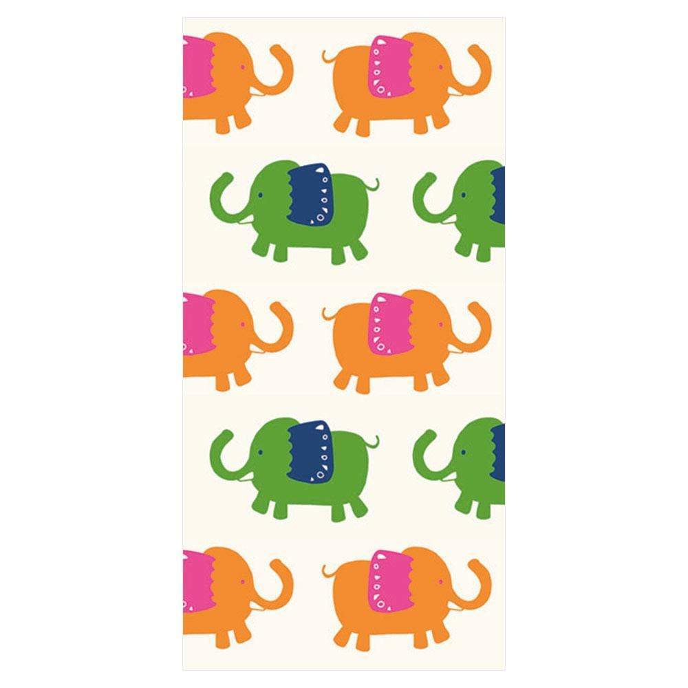 Elephant Parade Facial Tissue Hankies in Cream - Shelburne Country Store