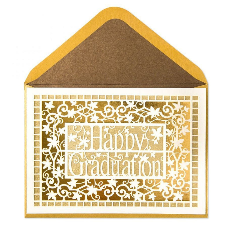 Laser Cut Graduation Card