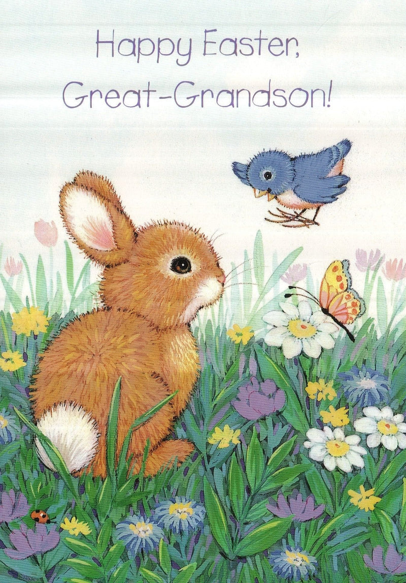 Happy Easter Great-Grandson Card