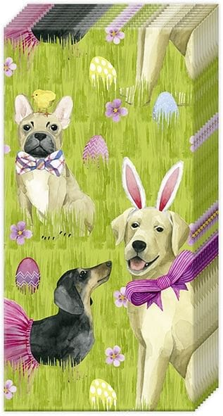 Bunny Dogs Pocket Tissue - Shelburne Country Store