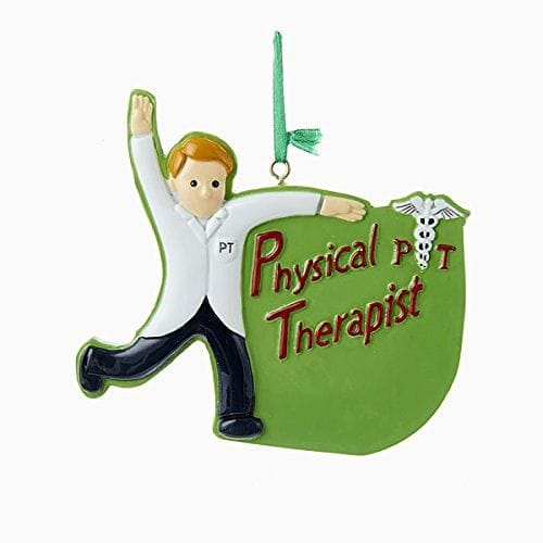 4 inch Resin Physical Therapist Ornament