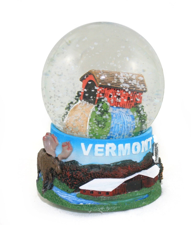 Large Covered Bridge Snowglobe