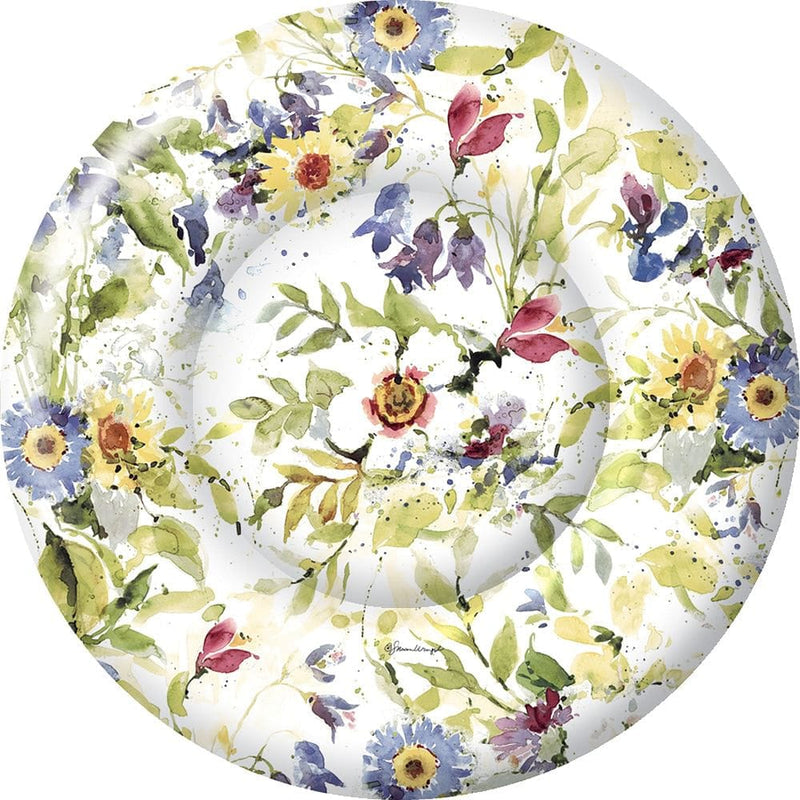 Packed Flowers Salad / Dessert Plate