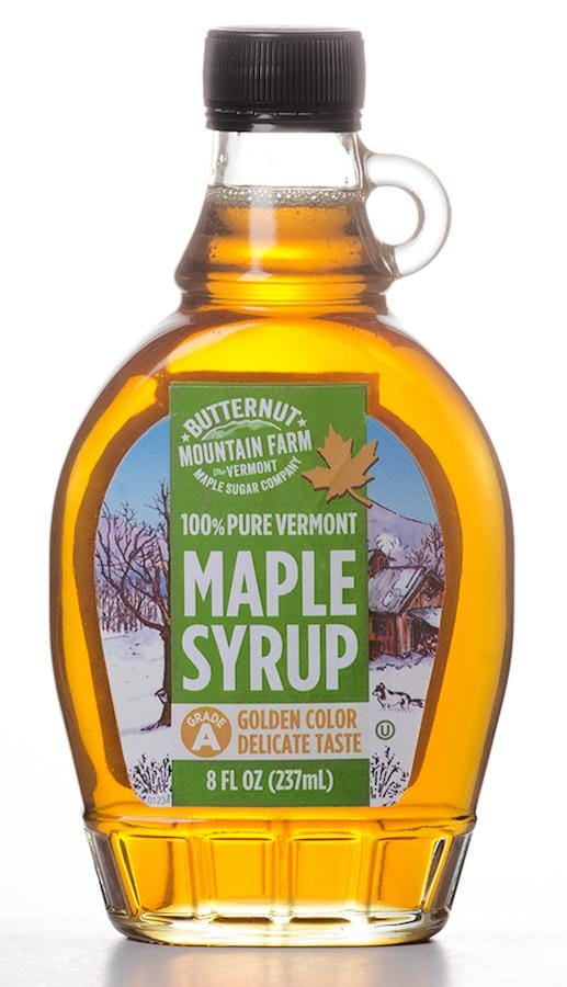 Golden Color Delicate Taste Maple Syrup 8 Ounce