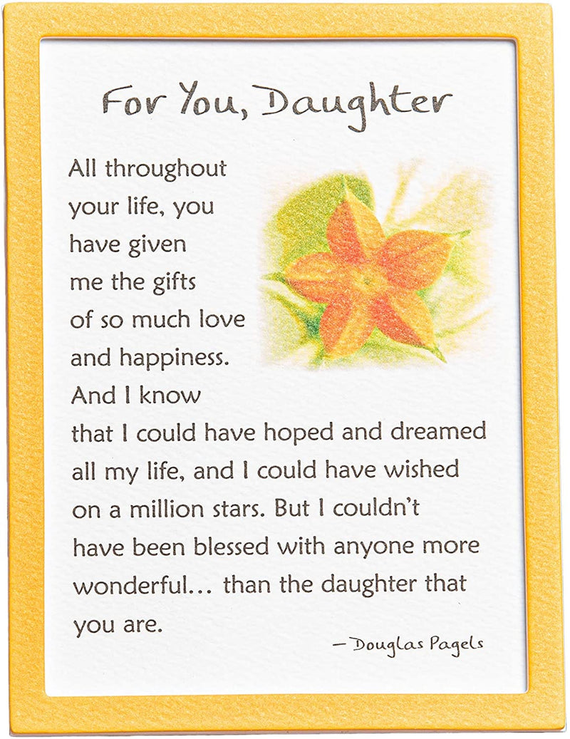 Easel-back Print with Magnet - For You, Daughter