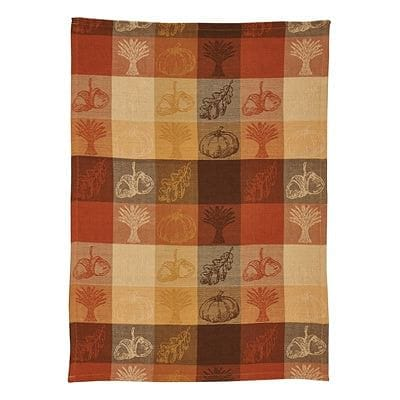 Pumpkin Patch Jacquard Dishtowel