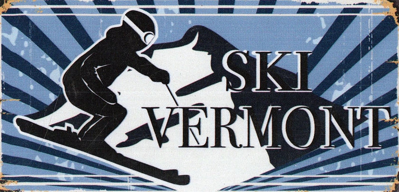 Ski Vermont One Peak Magnet - Shelburne Country Store