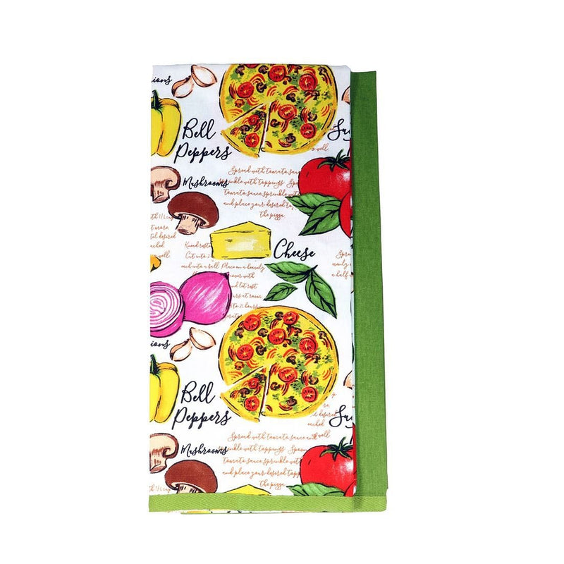 Pizza Dish Towel Set