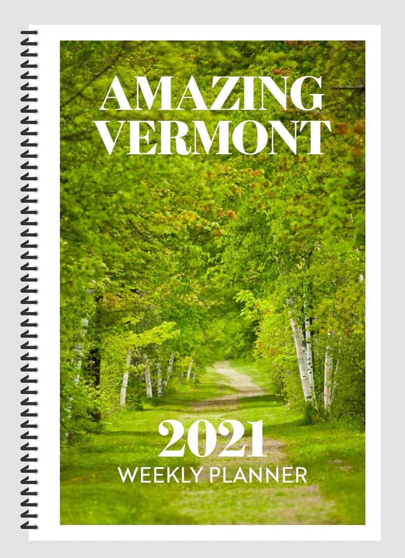 2021 Amazing Vermont Weekly Planner - Shelburne Country Store