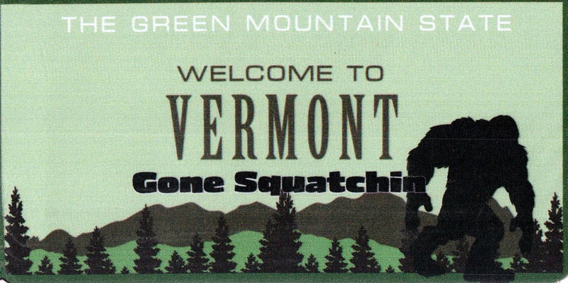 Vermont Big Foot Magnet - Shelburne Country Store