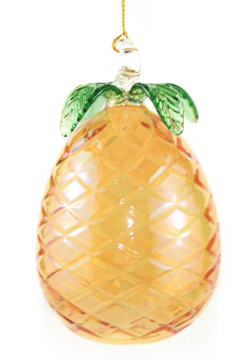 Blown Egyptian Glass Pineapple Ornament - Shelburne Country Store