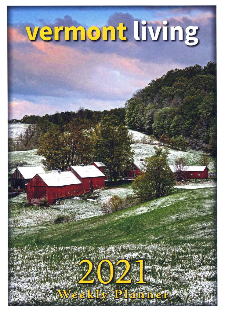 2021 Vermont Living Weekly Planner - Shelburne Country Store