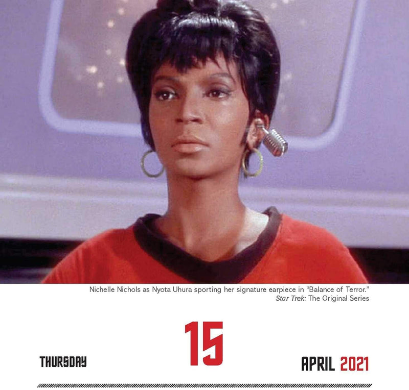 2021 Star Trek Day to Day Calendar