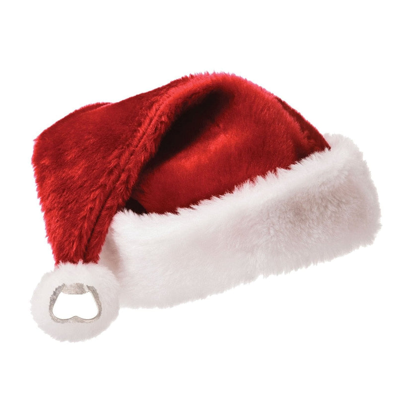 Red and White  Santa's Bottle Cap Hat