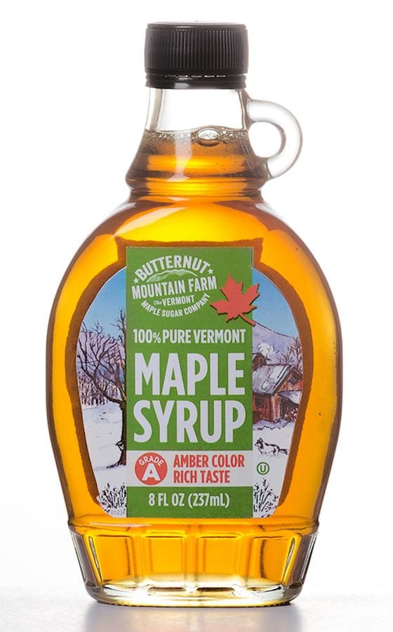 Maple Syrup Rich Amber Glass - 8 oz