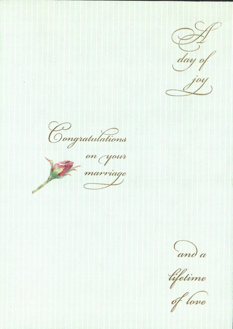 Wedding Card - A Day of Joy