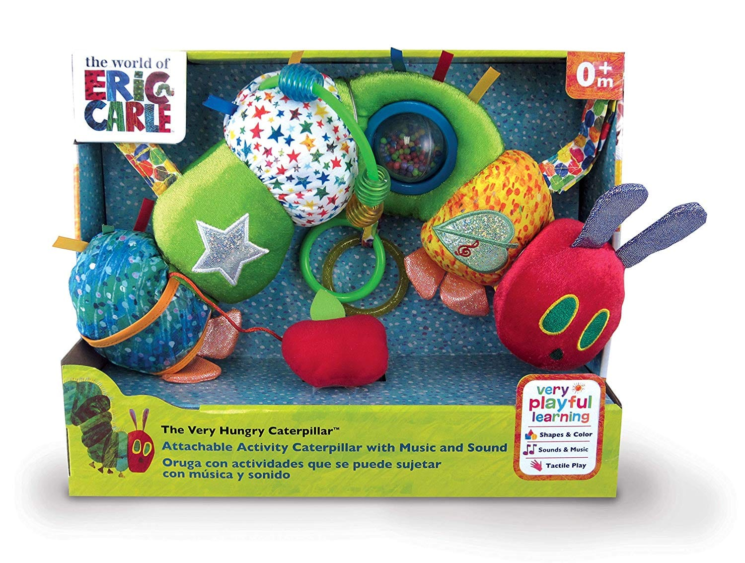 The Very Hungry Caterpillar Attachable Activity Caterpillar