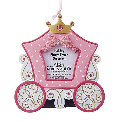 4.75 inch Princess Carriage Photo Frame