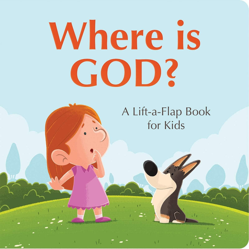 Where is God - Lift-a-flap Book
