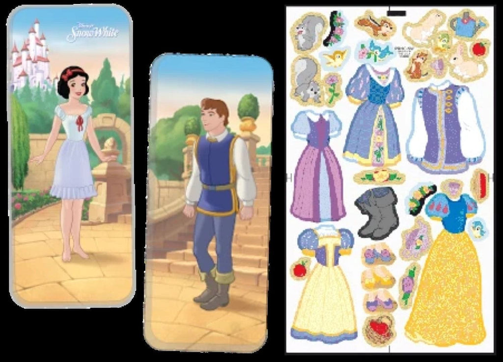 Magnetic Tin Paper Dolls - Snow White - Shelburne Country Store