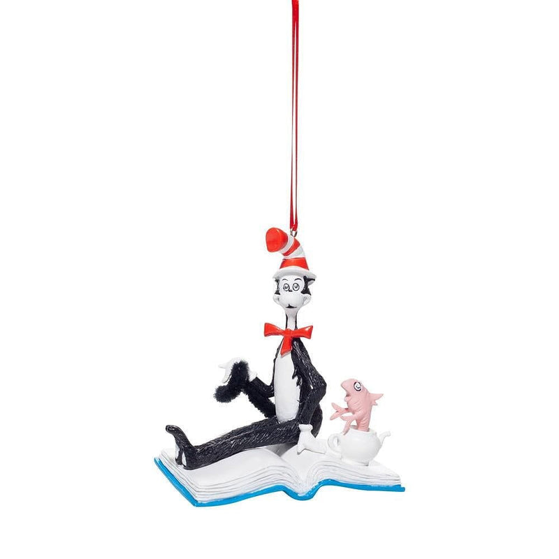 Cat in the Hat and Fish Ornament