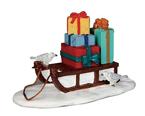 Lemax Village Collection Sled With Presents