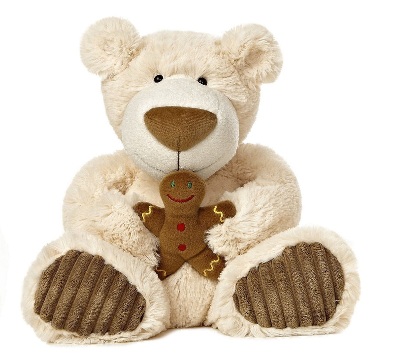 Gingerbread Latte Bear Small 12 inch By Aurora
