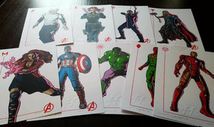 Avengers: Age of Ultron Mini-Print Set