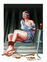 Load image into Gallery viewer, 'Bound Justice' art print