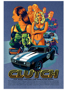 CLUTCH Movie Poster Sapphire Variant