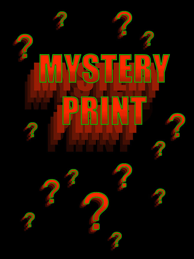 New 'MYSTERY PRINT' on sale this Wednesday, Nov 11th at 12 Noon PST