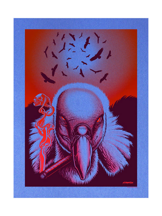 The Vultures are Circling Art Print