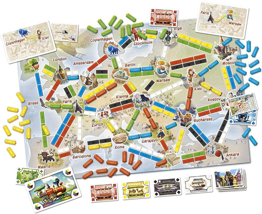 TickettoRideEurope_Board