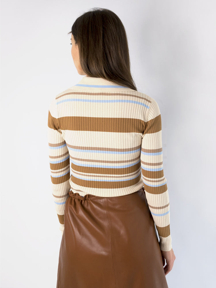 Load image into Gallery viewer, DoDo Bar Or - Penny Ribbed-knit Jumper