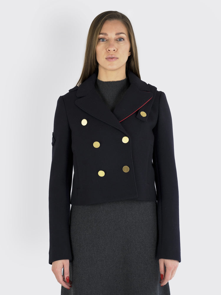 TIBI - Short breasted Wool jacket