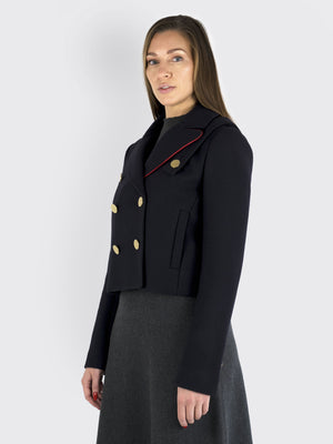 Load image into Gallery viewer, TIBI - Short breasted Wool jacket
