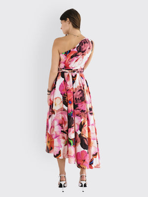 Load image into Gallery viewer, MSGM - Floral Print Dress