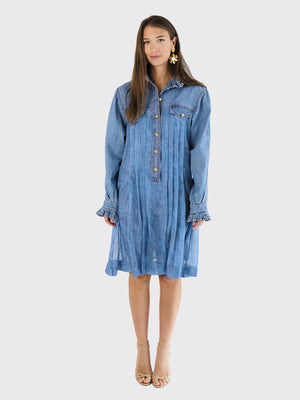 Philosophy Di Lorenzo Serafini - Denim Look Dress