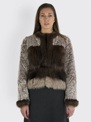 JO NO FUI - Fox Fur Jacket