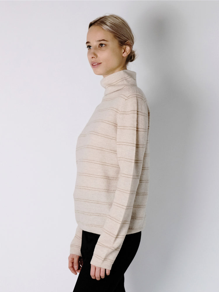 Vince - Stripe Turtleneck