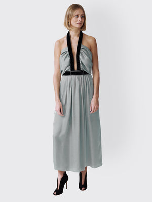 Philosophy Di Lorenzo Serafini - Matt Satin dress