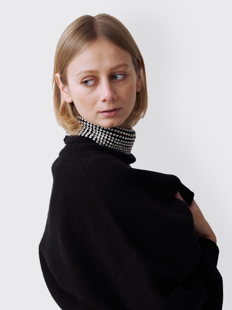 Alexander Wang – Rhinestones Turtleneck Sweater
