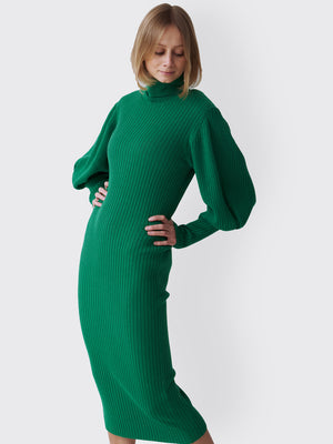 Circus Hotel - Cozy Green Dress